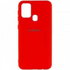 Накладка Samsung Galaxy М21 Silicone Case Red