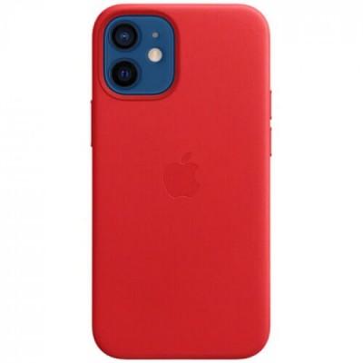 Накладка iPhone 12 Mini Leather Case (HC) Red