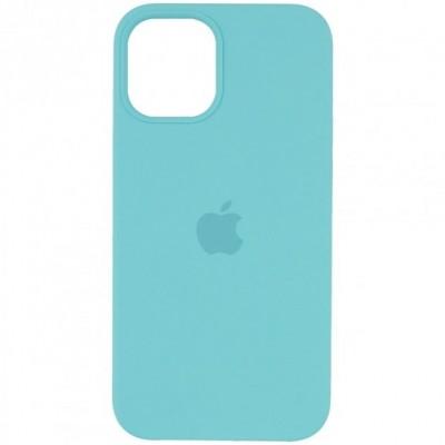 Накладка Apple iPhone 12/12 Pro  Silicone Case Turquoise