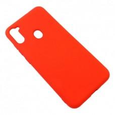 Накладка Samsung A21S (2020) Silicon Case Orange