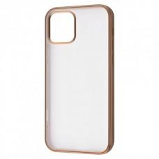 Накладка iPhone 12 Pro Max Totu Transparent Gold