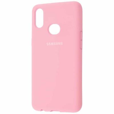 Накладка Samsung A10S (2019) Silicon Case Pink