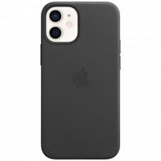 Накладка iPhone 12 Mini Leather Case (HC) Grey