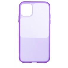Накладка iPhone 12/12Pro Bright Silicone Lady Purple