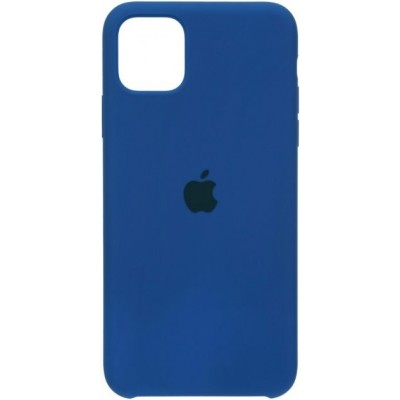 Накладка Apple iPhone 12/12 Pro  Silicone Case Blue
