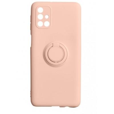 Накладка Samsung A21S (2020) Ring Color Peach