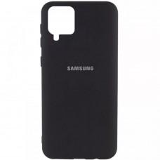Накладка Samsung Galaxy A12 (A125) Silicone Case Black
