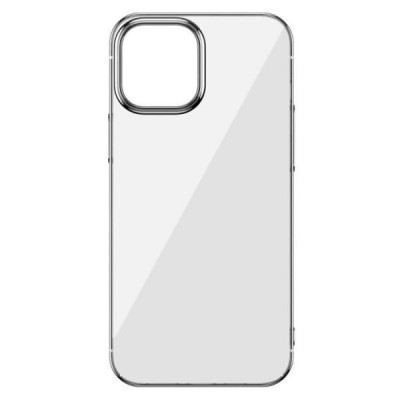 Накладка iPhone 12 mini Totu Transparent Silver