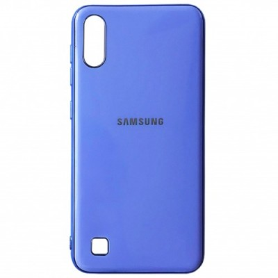 Накладка Samsung A10 (2019) Soft GLASS Glicine