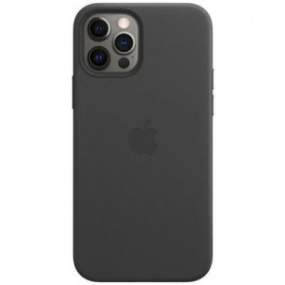 Накладка  iPhone 12 Pro Max Leather Case (HC) Grey