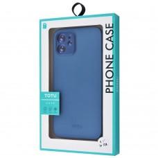 Накладка iPhone 12/12Pro Totu Ultra Slim Blue