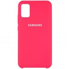Накладка Samsung Galaxy M31s Silicone Case Red