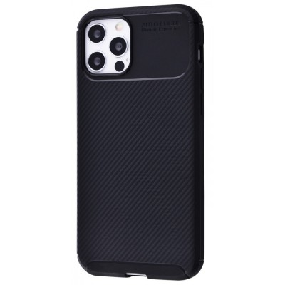 Накладка iPhone 12 Pro Max Ultimate Experience Carbon Black