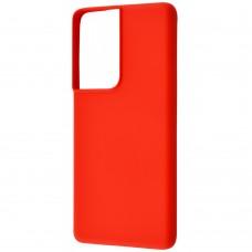 Накладка Samsung Galaxy S21 Plus WAVE Colorful Case Red