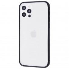 Бампер iPhone 12 Pro Max Evogue Metal Black