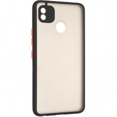 Накладка Tecno Pop 4 Pro Gelius Mat Case Black