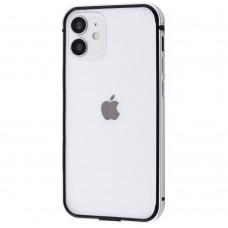 Бампер iPhone 12/12 Pro Evogue Metal Silver