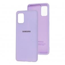 Накладка Samsung Galaxy M31s Silicone Case Violet