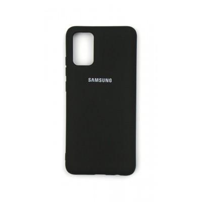 Накладка Samsung Galaxy A02S (A025) Silicone Case Black