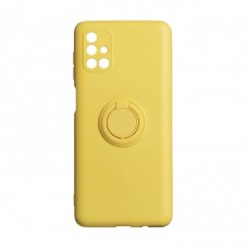 Накладка Samsung Galaxy M31s Ring Color Yellow