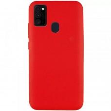 Накладка Samsung A21S (2020) Silicon Case Red