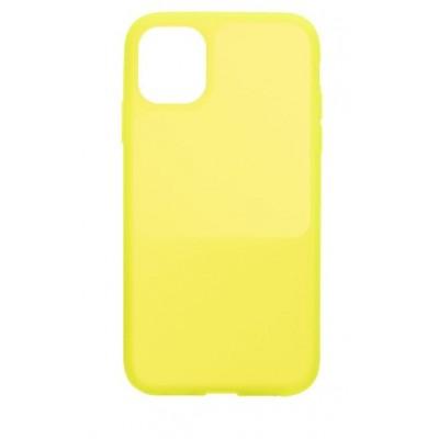 Накладка iPhone 12/12Pro Bright Silicone Lemon Yellow