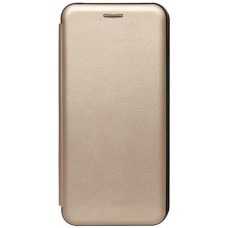 Книжка Xiaomi Redmi 9A Leather Case Gold