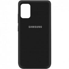 Накладка Samsung Galaxy M31s Silicone Case Black