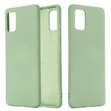 Накладка Samsung Galaxy M31s Silicone Case Light Green
