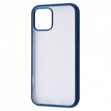Накладка iPhone 12 Pro Max Totu Transparent Blue