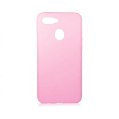 Накладка Oppo A12 Soft Case Pink
