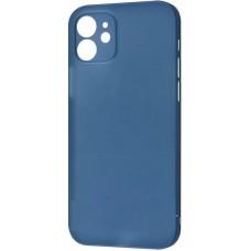 Накладка iPhone 12 mini Totu Ultra Slim Blue