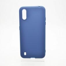 Накладка Samsung A01 TPU Soft case Blue