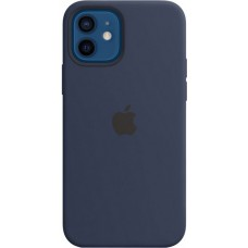 Накладка Apple iPhone 12 Mini Silicone Case Magsafe Nuvy Blue