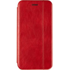 Книжка Samsung Galaxy A12 (A125) Premium Leather Case NEW Red