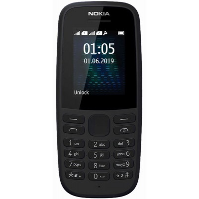 Nokia 105 (TA-1174) DS 2019 Black