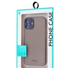 Накладка iPhone 12 mini Totu Ultra Slim Black