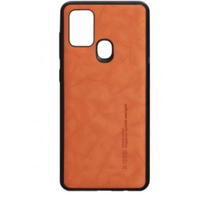 Накладка Samsung A21S (2020) Leael Color Orange