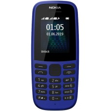Nokia 105 (TA-1174) DS 2019 Blue