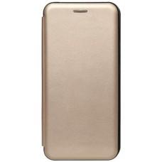 Книжка Samsung Galaxy A02S (A025) Leather Case Gold