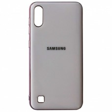 Накладка Samsung A10S (2019) Soft GLASSPinkSand