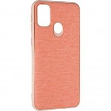 Накладка Samsung Galaxy М21 Gelius Canvas Pink