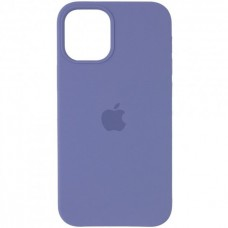 Накладка Apple iPhone 12 Silicone Case Lavender (Middle)