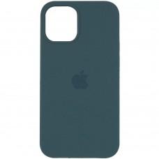 Накладка Silicone Case для Apple iPhone 12 Pro Max Pine Green (Middle)