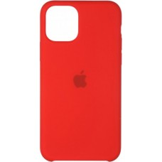 Накладка iPhone 11 Pro Max Silicone Case Red (Middle)
