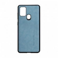 Накладка Samsung A21S (2020) Leael Color Blue