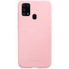 Накладка Samsung M31 TPU Soft case  Pink