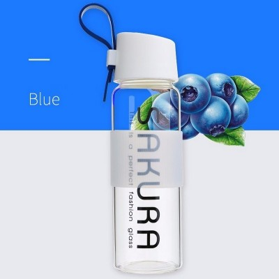 Glass bottle Sakura REMAX 490ml (RCUP-13) Blue
