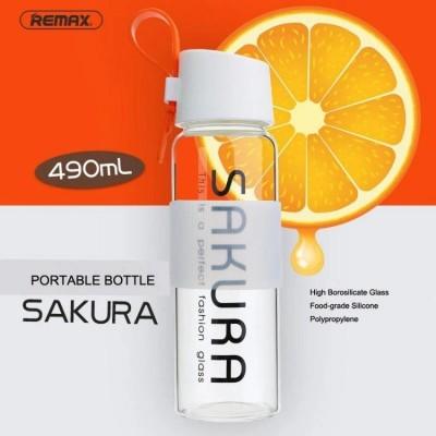 Glass bottle Sakura REMAX 490ml (RCUP-13) Orange